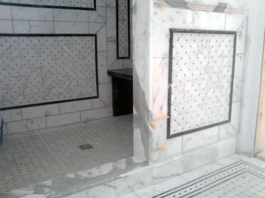 Pose De Ceramique Mosaique Carrelage Laurentides Quebec La Cle Des Sols